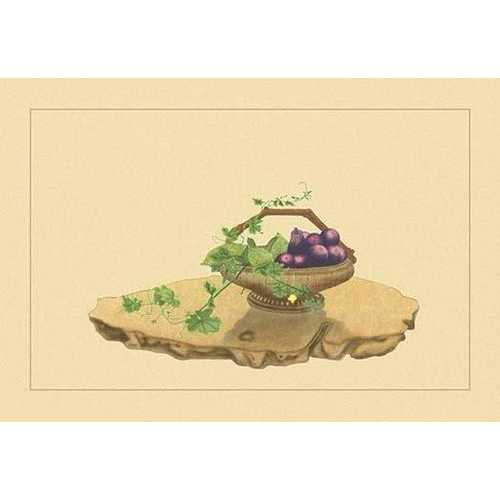 Eggplant and Charantia (Paper Poster)