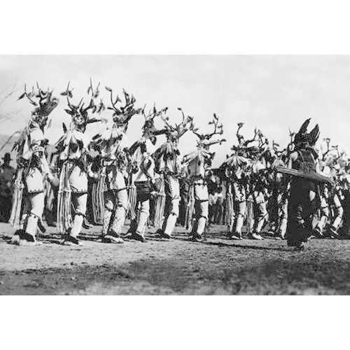 Deer Dance (Paper Poster)