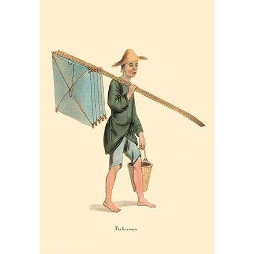 Fisherman (Canvas Art)