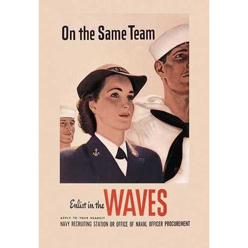 On the Same Team: Enlist in the Waves (Paper Poster)