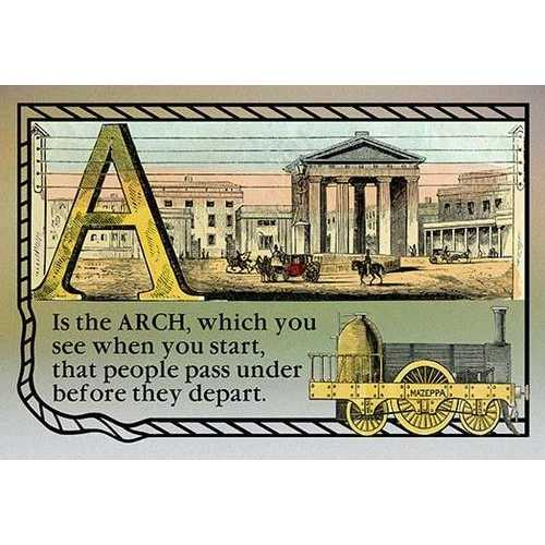 A is the Arch (Paper Poster)