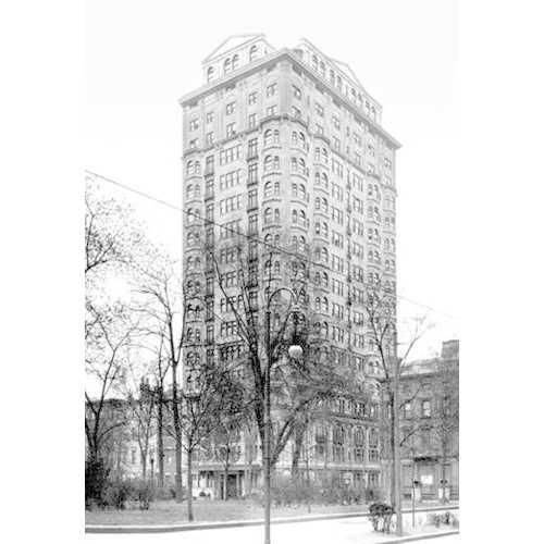 A Philadelphia Building #1 (Framed Poster)