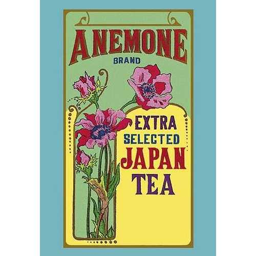 Anemone Brand Tea (Canvas Art)