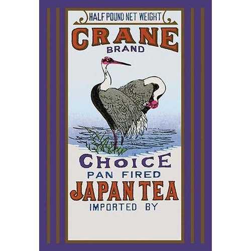 Crane Brand Tea (Fine Art Giclee)