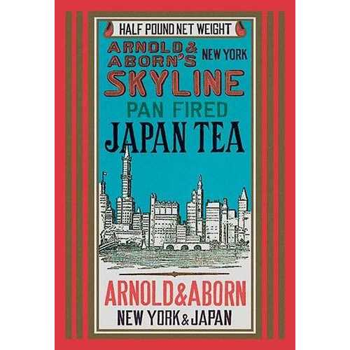 New York Skyline Tea (Paper Poster)