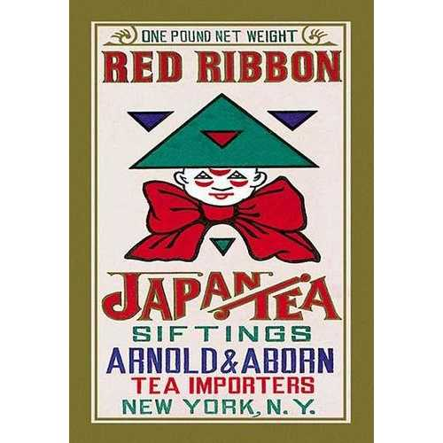 Red Ribbon Brand Tea (Paper Poster)