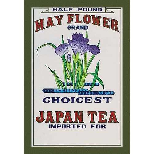 May Flower Brand Tea (Paper Poster)