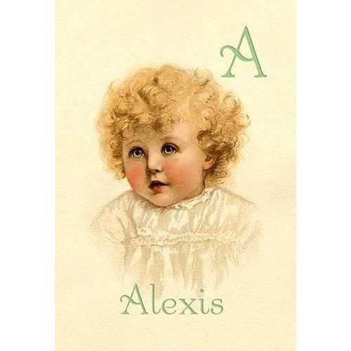 A for Alexis (Paper Poster)