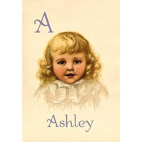 A for Ashley (Paper Poster)