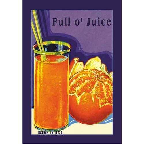 Full O' Juice (Paper Poster)