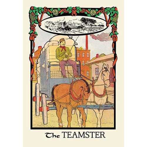 The Teamster (Fine Art Giclee)