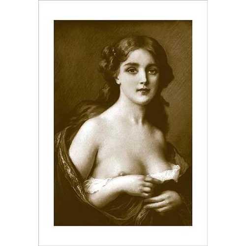 Woman as Art (Canvas Art)