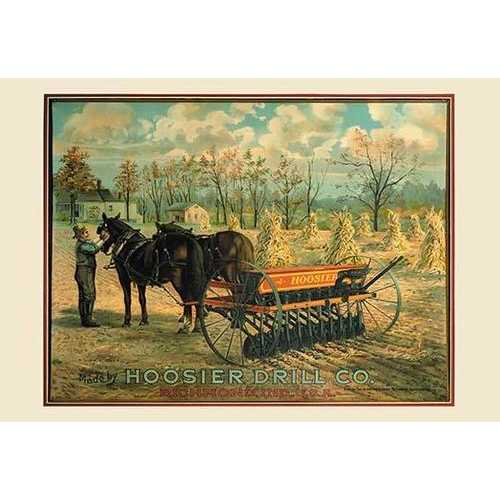 Hoosier Drill Company of Richmond, Indiana (Paper Poster)