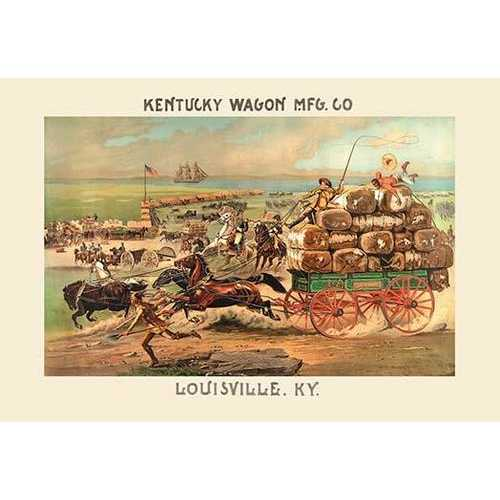 Kentucky Wagon Manufacturing Company (Paper Poster)