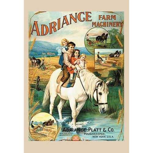 Adriance Farm Machinery (Paper Poster)