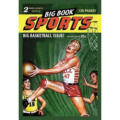 Big Book Sports: Big Basketball Issue! (Canvas Art)
