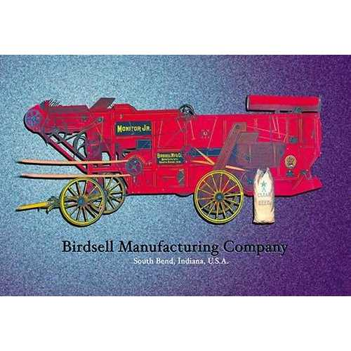 Birdsell's Clover Thresher and Separator (Paper Poster)