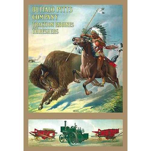 Buffalo Pitts Company - Buffalo Hunter (Paper Poster)