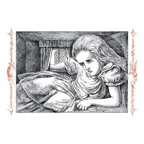 Alice in Wonderland: Alice Grows Large (Canvas Art)