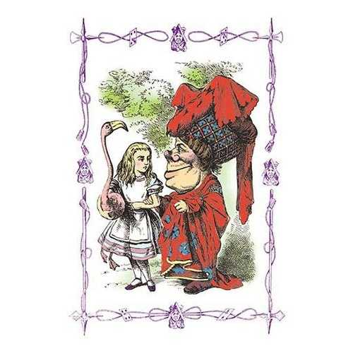 Alice in Wonderland: Alice and the Duchess (Paper Poster)