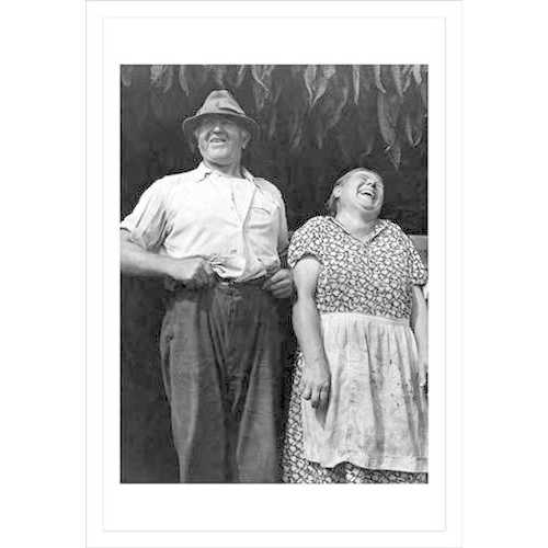 Mr. & Mrs. Andrew Lyman, Polish Tobacco Farmers (Fine Art Giclee)