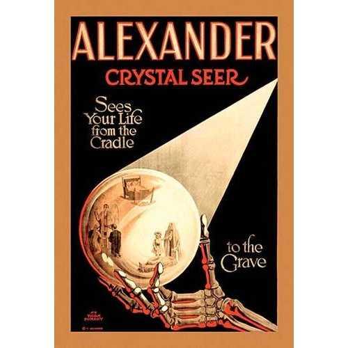 Alexander - The Crystal Seer (Framed Poster)