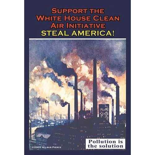 Steal America! (Framed Poster)