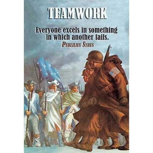Teamwork (Paper Poster)