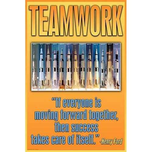 Teamwork (Fine Art Giclee)