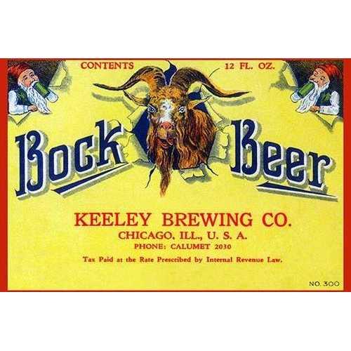 Bock Beer (Canvas Art)
