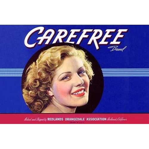 Carefree (Paper Poster)