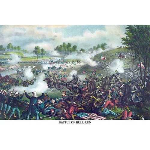 2nd Manassas - Bull Run - Virginia (Paper Poster)