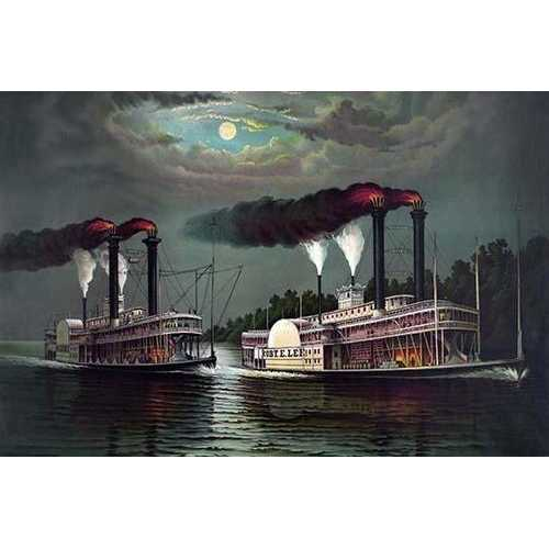 Robert E. Lee Steamboat Company (Paper Poster)