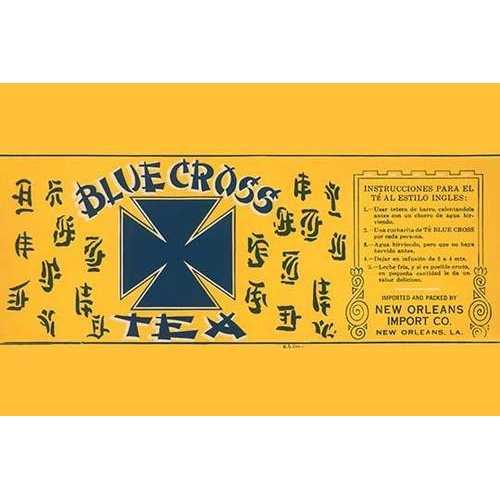 Blue Cross Tea (Paper Poster)