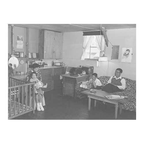 Mr. & Mrs. Richard Izuno and children (Framed Poster)
