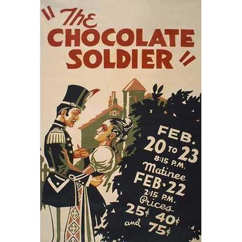 Chocolate Soldier (Fine Art Giclee)