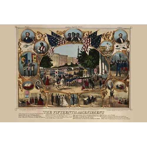 The Fifteenth Amendment (Canvas Art)