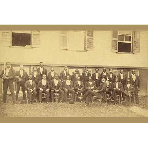 African American baseball team, Danbury, Connecticut (Framed Poster)