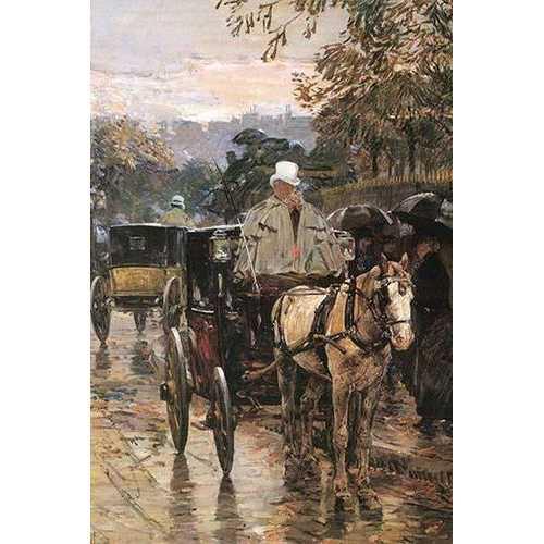 Rue Bonaparte (Canvas Art)