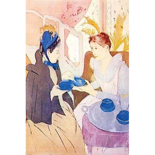 Tea in the afternoon (Fine Art Giclee)