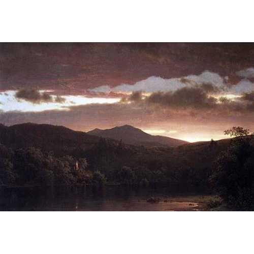 Twilight (Catskill Mountain) (Canvas Art)