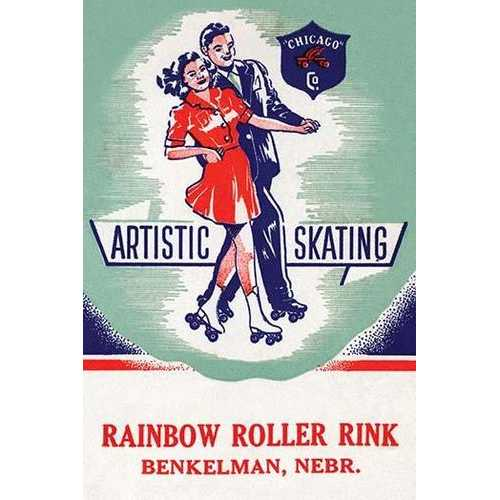 Artistic Skating (Canvas Art)