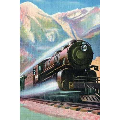 Steaming Full Speed Ahead (Canvas Art)