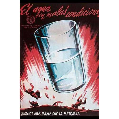 Impure Water causes more Casualties than shrapnel (Fine Art Giclee)