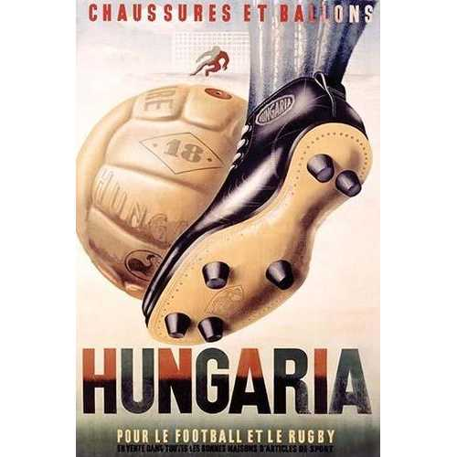 Hungaria Soccer Shoes (Fine Art Giclee)