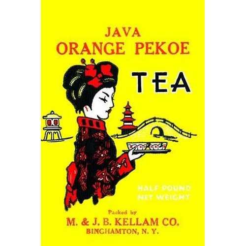 Java Orange Pekoe Tea (Framed Poster)