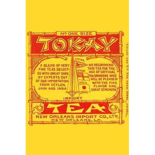 Tokay Tea Import (Paper Poster)
