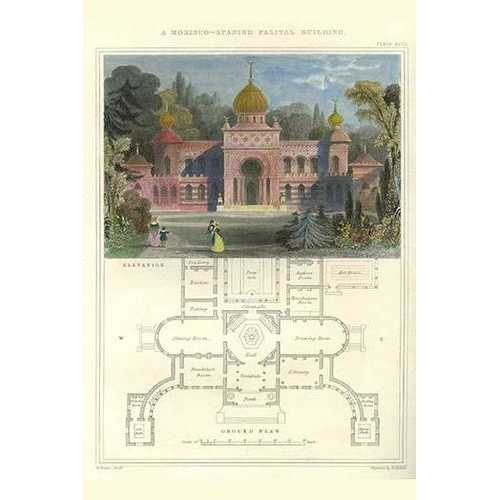Morisco-Spanish Palatial Building (Paper Poster)