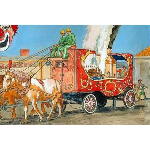 Steam Calliope (Canvas Art)