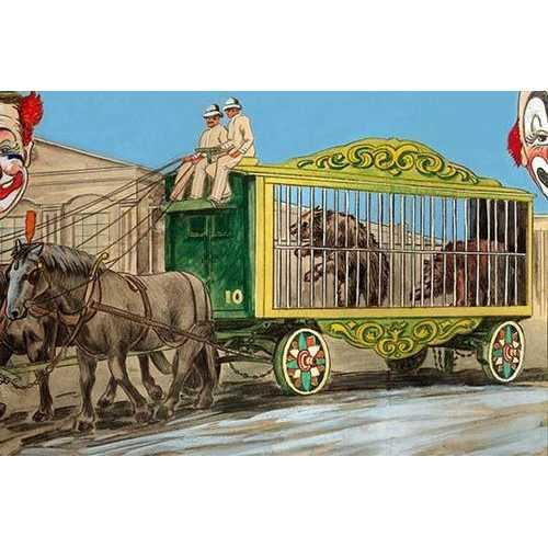 Bear Cage (Framed Poster)